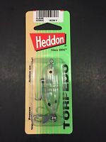 Heddon Tiny Torpedo 1 7/8 1/4oz Clear X0360c