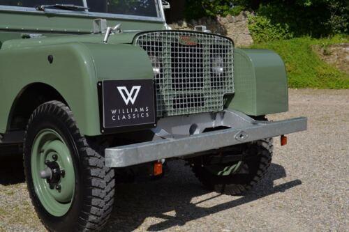 LAND Rover Serie 1 80 88 107 /& 109 SUPPORTO TARGA quadrato 86