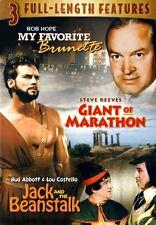 My Favorite Brunette /Giant Of Marathon / Jack and the Beanstalk (DVD)