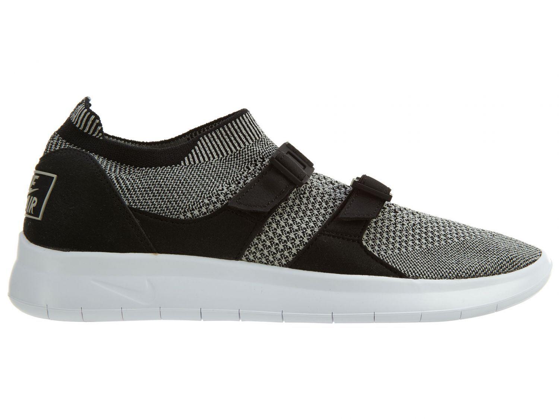 Nike Air Sockracer Flyknit Mens 898022-004 Black Grey Running Shoes Size 11.5