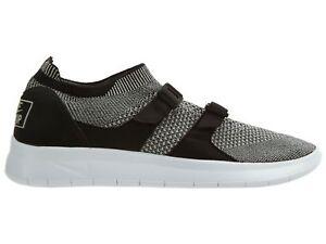 1f46fe8db52a5 Nike Air Sockracer Flyknit Mens 898022-004 Black Grey Running Shoes ...