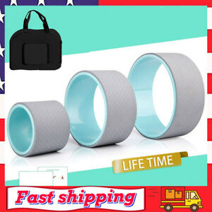 Yoga Poses Yoga Wheel Yoga Roller Rad for Back Pain Perfect for Stretching