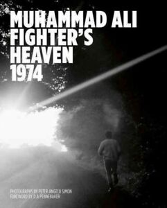 Muhammad-Ali-Fighter-039-s-Heaven-1974-Hardcover-by-Simon-Peter-Angelo-PHT