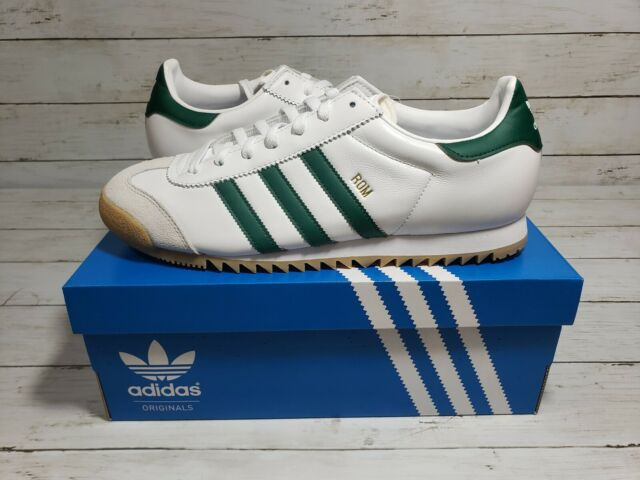 Size 10 - adidas Rom Cloud White Green