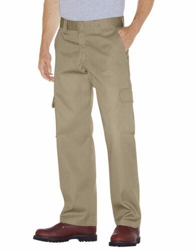 Dickies WP592 Men/'s Desert Sand Relaxed Straight Leg Cargo Work Pant Workwear