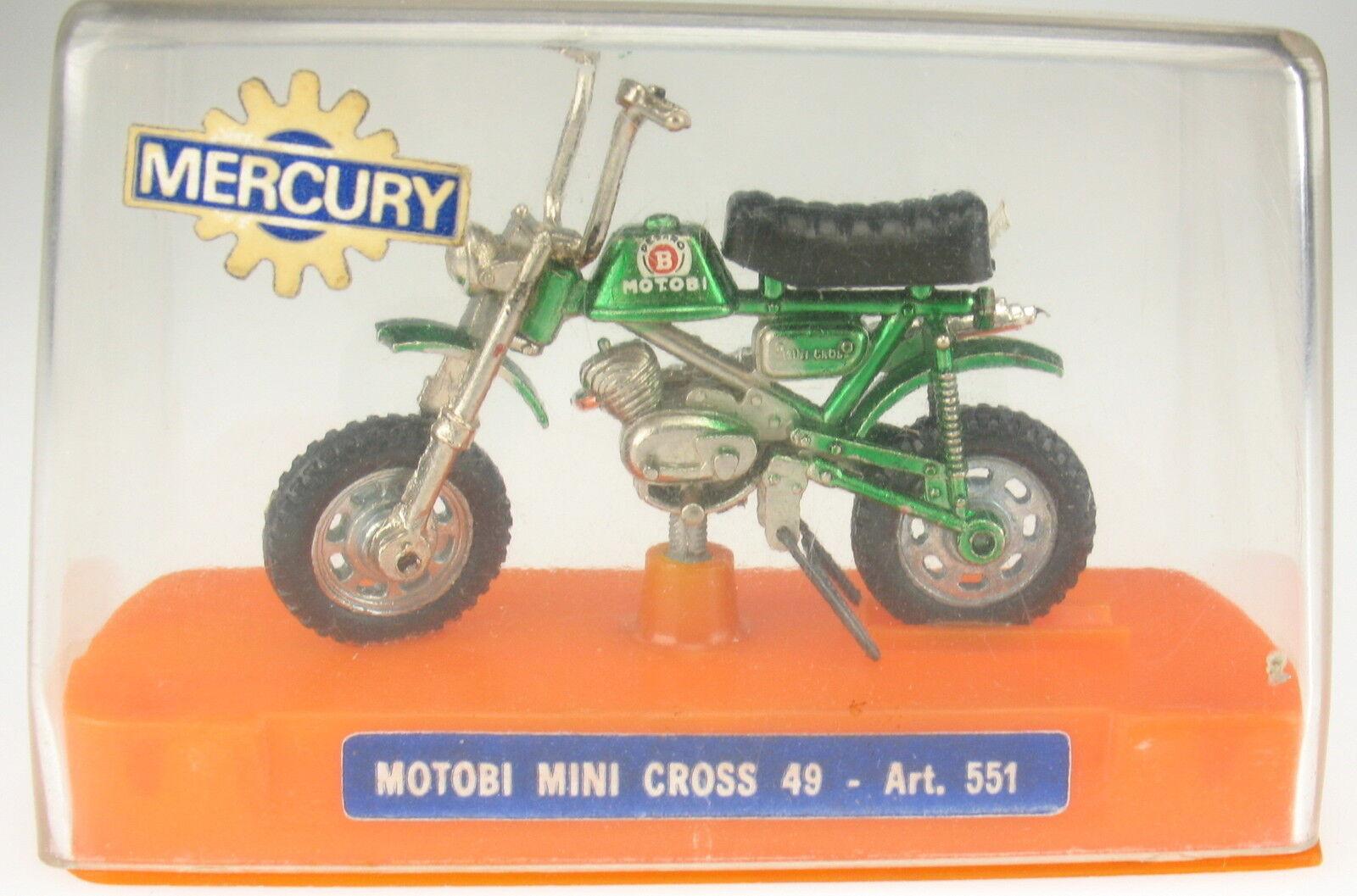 MERCURY 551 - MOTOBI Mini Cross 49 - 1 24 - in OVP   Box - Motorrad Motorcycle 2