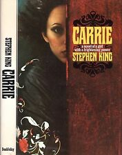 Carrie Stephen King (The Shining, Salem's Lot) HC First Edition - Later Printing