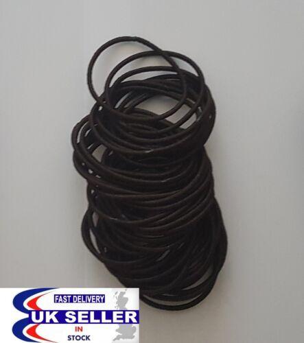 Cheveux Pompon Fille Queue De Cheval Élastique Doux Snag libres d/'épaisseur moyenne Mince Cheveux Bandes