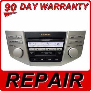Repair 99 09 6 Disc Changer Cd Player Lexus Rx300 Rx330 Rx350 Rx400h Rx450h Ebay