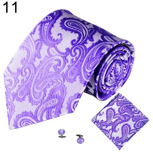 Eg /_ Herren Dekor Paisley Blumen Mode Business Hochzeit Party Anzug Krawatte Daz