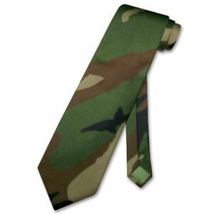 Covona mens dark green army camouflage necktie military mens neck image is loading covona men 039 s dark green army camouflage ccuart Choice Image