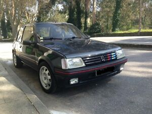 kit exterieur peugeot 205 gti tous mod les 3 portes 6 pi ces neuves ebay. Black Bedroom Furniture Sets. Home Design Ideas