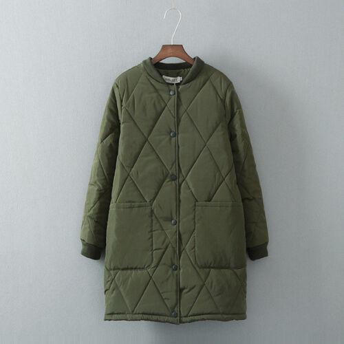 Bianco 1310 Comodo Cappuccio Giacca Piumino Lungo Donna Verde Caldo Nero qPwaBXHaz