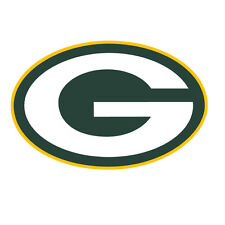 "Green Bay Packers Decal indoor - outdoor - car-  truck - window 5.5"" x 3.5"""