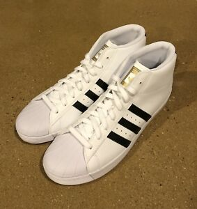 big sale 75380 4e06c Details about Adidas Pro Model Vulc ADV Superstar Size 12 US Skateboarding  Shoes