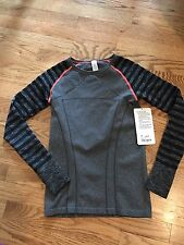 NWT IVIVVA FLY TECH LS TEE BOHL SIZE 12