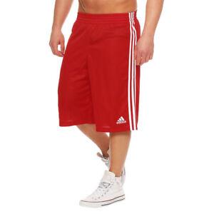 Verkaufsförderung neue Version begrenzter Preis Details about Adidas Young Commander Jungen Herren Basketball Rot Shorts  Polyester