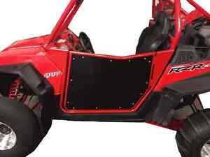 Image is loading Polaris-RZR-Doors-Fit-XP-900-570-800-  sc 1 st  eBay & Polaris RZR Doors Fit XP 900 570 800 Bear Claw Style Red/Black ...