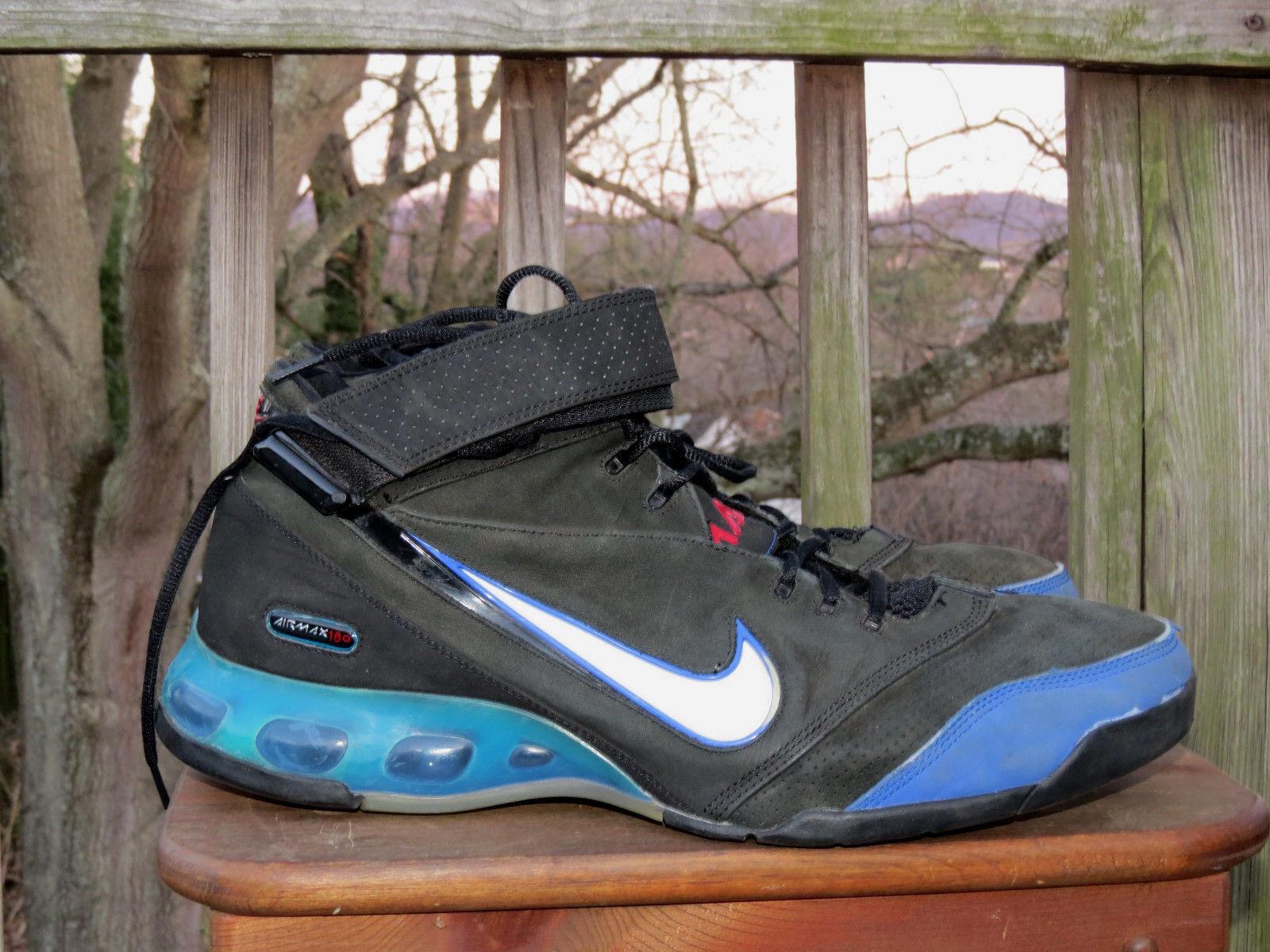 Nike Air Max tempo Uptempo Pippen Penny Barkley cómodos 180 retro Hombre zapatos cómodos Barkley 74b52c