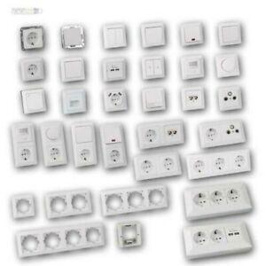 MILOS-Steckdosen-Schalter-Unterputz-Schalterserie-weiss-matt-UP-Schalterprogramm