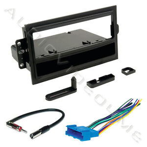 car radio stereo installation dash kit mounting bezel trim olds wiring harness