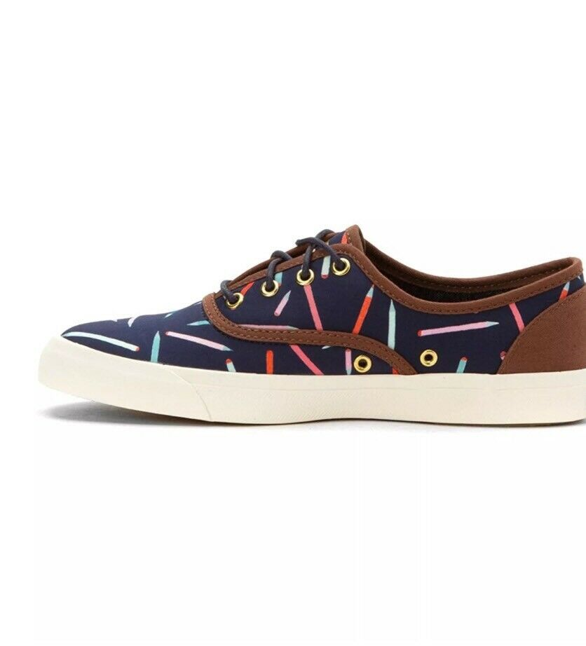 Keds Damenschuhe Triumph Liberty Sketch Navy Damenschuhe Keds Fashion Sneaker Größe 7.5 5c916f