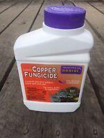 Bonide Liquid Copper Fungicide Concentrate Disease Spray Organic Gardening