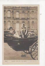 Actress Clara Butt & Babies Vintage RP Postcard 326b