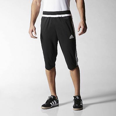 adidas Tiro 15 Three-Quarter Pants Men's Black