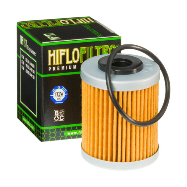 Hiflo HF157 Motorcycle Motorbike Replacement Premium Engine Oil Filter
