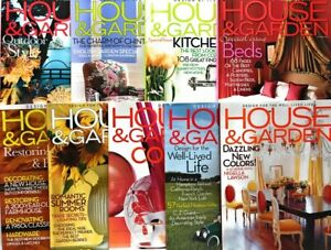 9 House And Garden Magazines 2004 Design Style Decorating Well