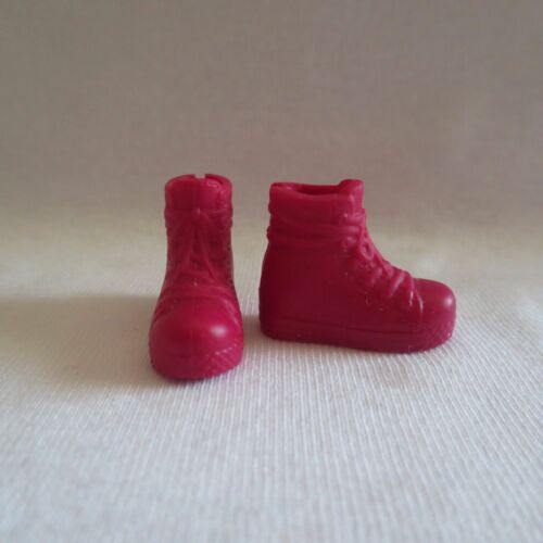 NEW Barbie Epic Weekend Teen Sister Skipper Doll Dark Red Boots Sneakers Shoes