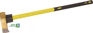 Spaltbeil Axt TÜV//GS Spalthammer 3000 Gr mit Glasfaserstiel 900mm Spaltaxt