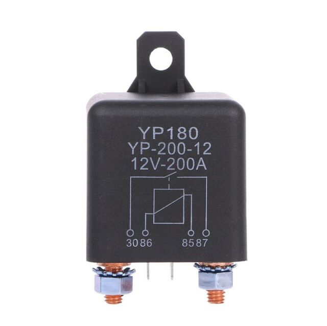 12V DC 200A High Power Car Relay Truck Motor Continuous Type Automotive Switch
