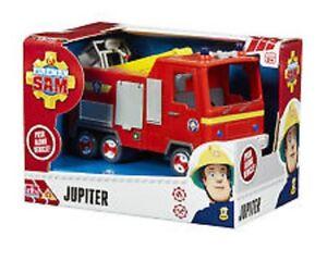 Little-Characters-Fireman-Sam-Vehicle-Jupiter-Brand-New