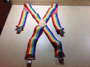 Kuny-039-s-SP-15-Rainbow-Suspenders-Gay-Pride-Ware