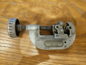 Vintage-General-No-120-Pipe-Cutter-Made-in-USA-Tools