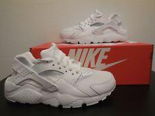 e79a87cdc 11 Womens Nike Air Huarache Run Triple White Running Casual Classic 634835  108
