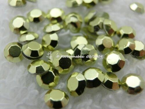 Choix de Couleur karostonebox 720 Hot Fix metallstuds cintres rivets repasser 4mm Blanc O