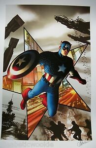 Captain-America-Marvel-Winter-Soldier-art-comic-print-poster-shield-hydra
