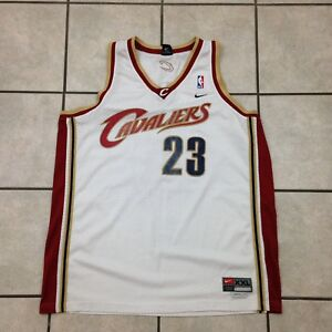 d1711e97dbdb Authentic Lebron James Nike Cavs Cavaliers NBA Home Jersey - Size ...