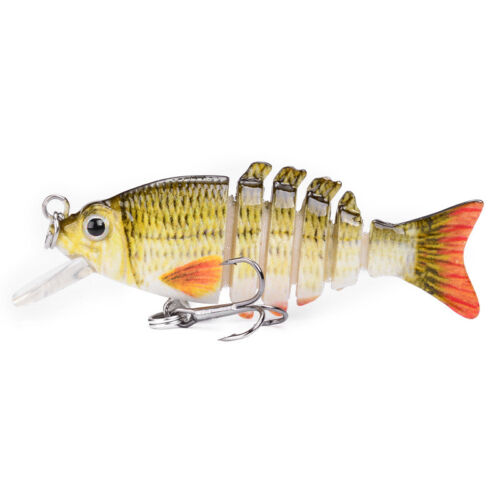 Details about  /1pc Multi Jointed Fishing Lures Sinking Wobblers Swimbait Hard Bait Crankbait