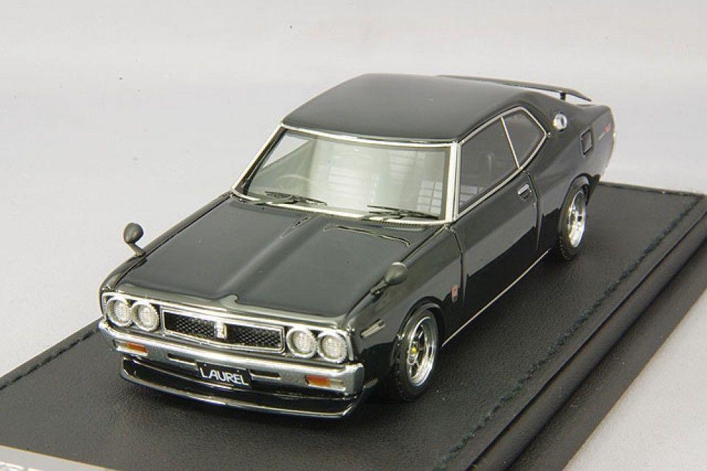 entrega de rayos Escala 1 43 ignitional IG Nissan Laurel Laurel Laurel 2000SGX C130 Negro IG0142  venderse como panqueques