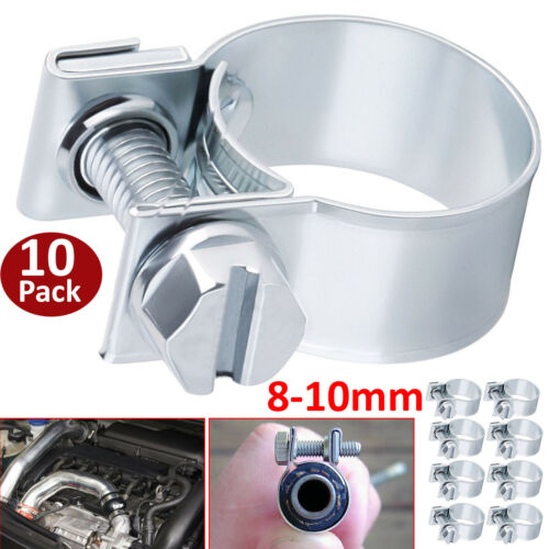10 X Véritable Jubilee clips Jubilee Tuyau Clip Durite Carburant Colliers ver drive