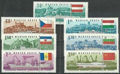 Ungarn/ Schiffe Minr 2323/29 A ** Ideales Geschenk FüR Alle Gelegenheiten Ungarn