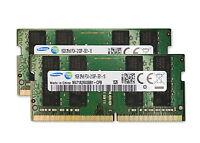 2x 16gb 32gb Ram Ddr4 2133 Mhz Samsung So Dimm Pc4-17000 For Skylake Laptops