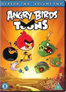 Angry-Birds-Toons-Season-Two-Volume-Two-DVD-DVD-New-Eric-Guaglione