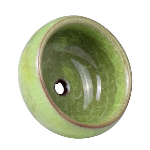 """Keramik Pflanztöpfe Blumenkasten Chinesische Eis-Riss Stil Sukkulenten 2.5*1.3/"""""""