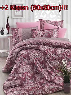 Bettwaren, -wäsche & Matratzen Bettwäsche Hingebungsvoll Steppdecke 3 Tlg 200x200 Cm Schlafset Steppbett 4 Jahreszeiten Kissen Decke Secp