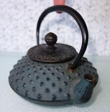 Japanese Cast Iron Teapot Nambu Nanbu Tekki Tetsubin Iwachu 140041 ENAMEL INSIDE
